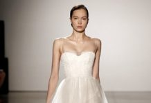 Beautiful Wedding Dresses Inspiration 2017 2018 A Sophisticated Christos Dress With Slimming Bodice