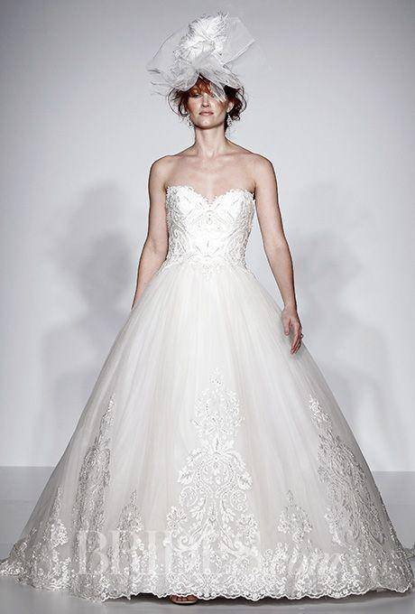 Beautiful Wedding Dresses Inspiration 2017/2018 : A strapless ball ...