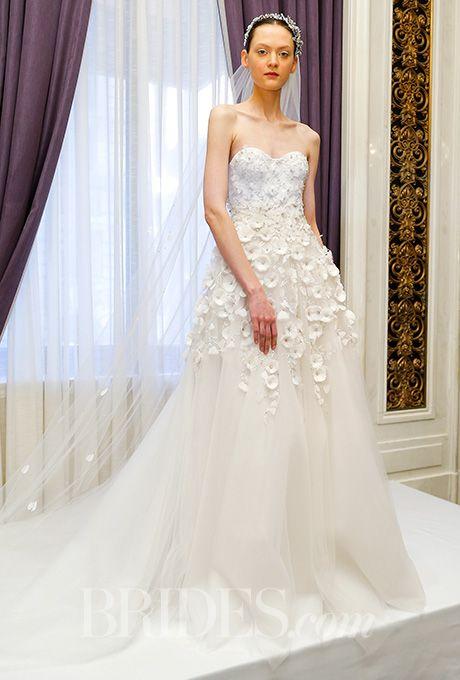 Beautiful Wedding Dresses Inspiration 2017/2018 : A strapless ...