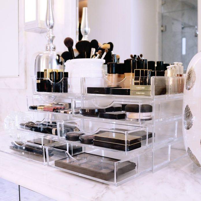 Acrylic Box Tutorial : Best ideas for makeup tutorials acrylic storage