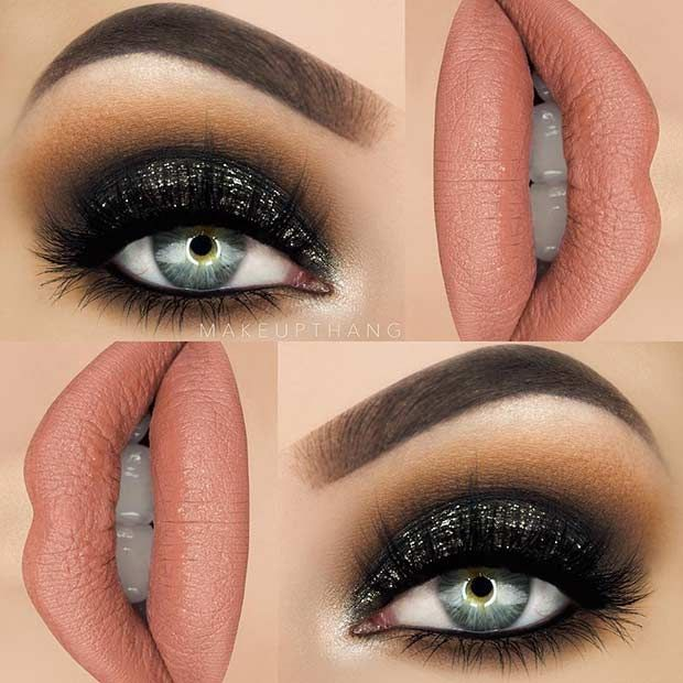 Best Ideas For Makeup Tutorials Dramatic Black Eye Makeup Idea For