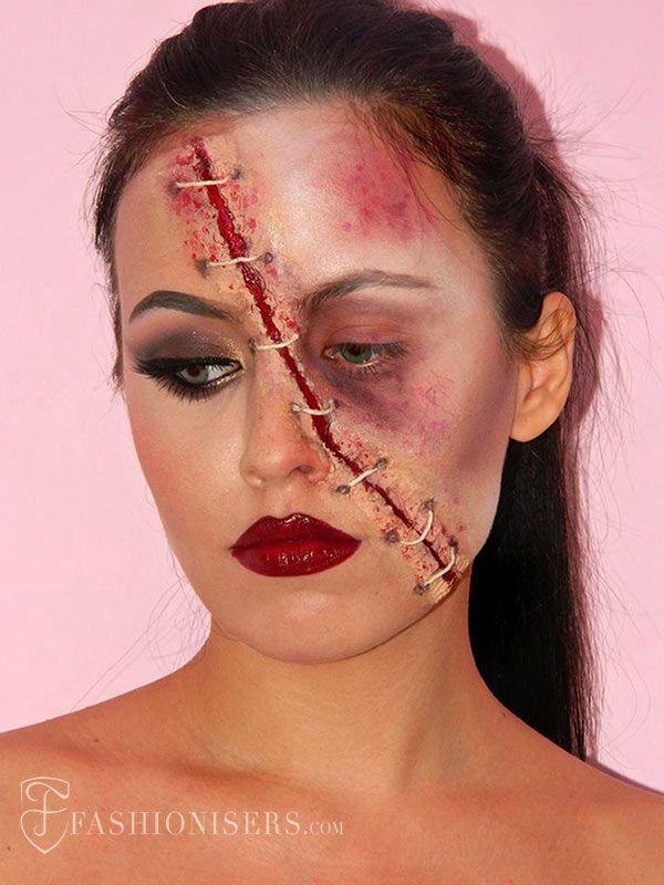 Zombie halloween makeup tutorial youtube.