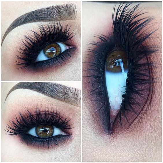 Best Ideas For Makeup Tutorials : Long, Thick Eyelashes ...
