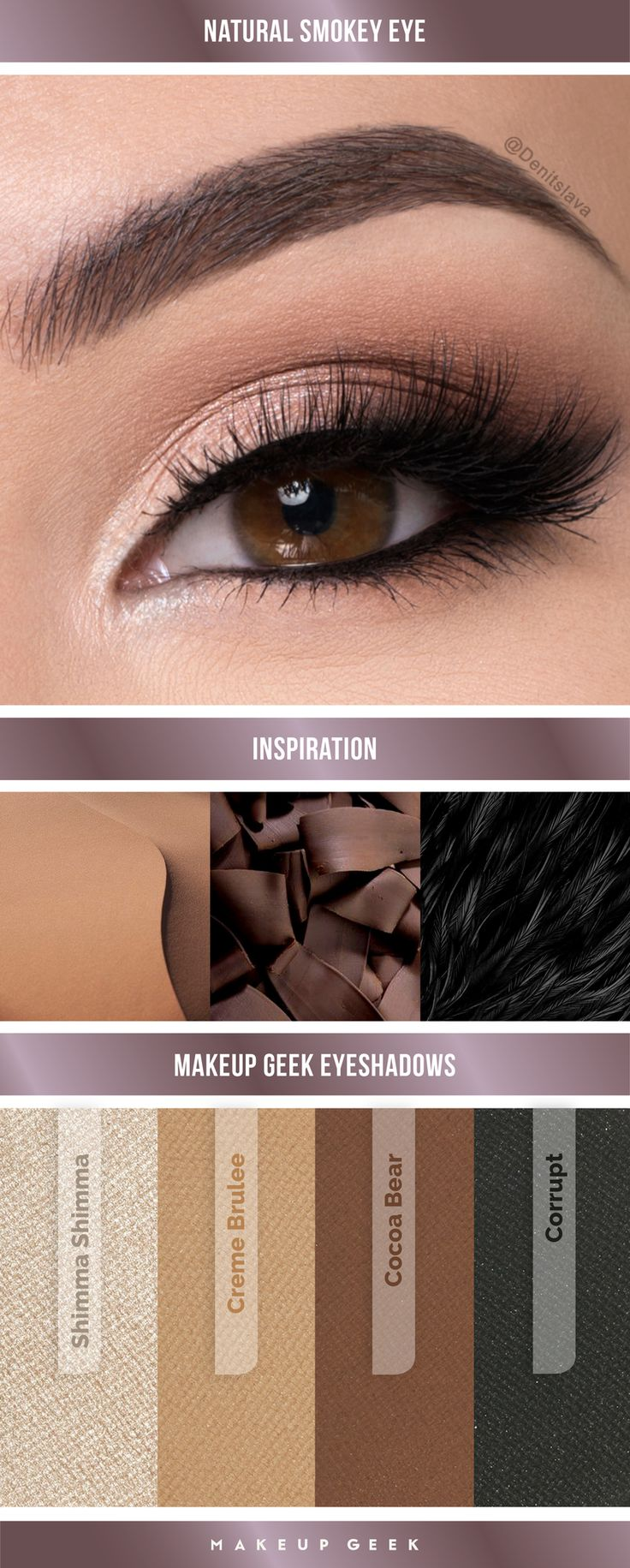 Best Ideas For Makeup Tutorials Natural Smokey Eye Look By