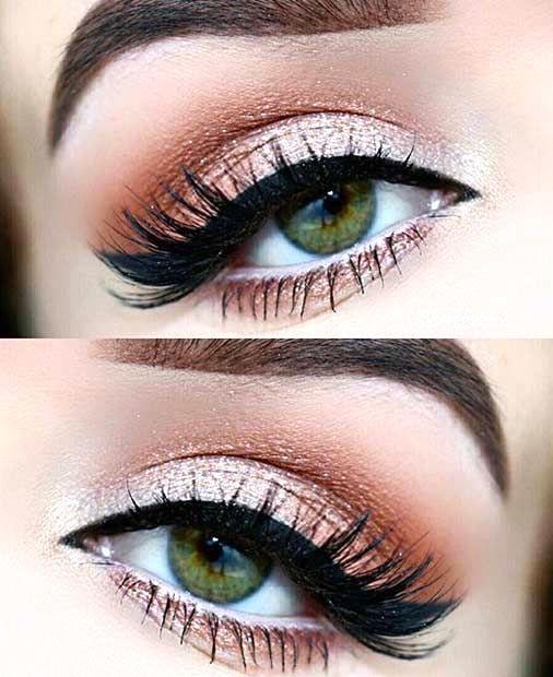 Best Ideas For Makeup Tutorials Peaches And Cream Eye Makeup Look