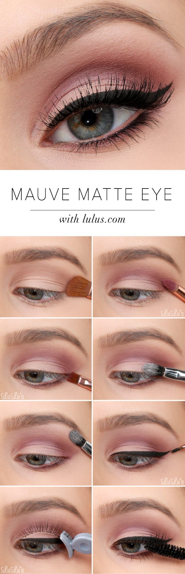 Best Ideas For Makeup Tutorials See This Easy Mauve Matte Eye