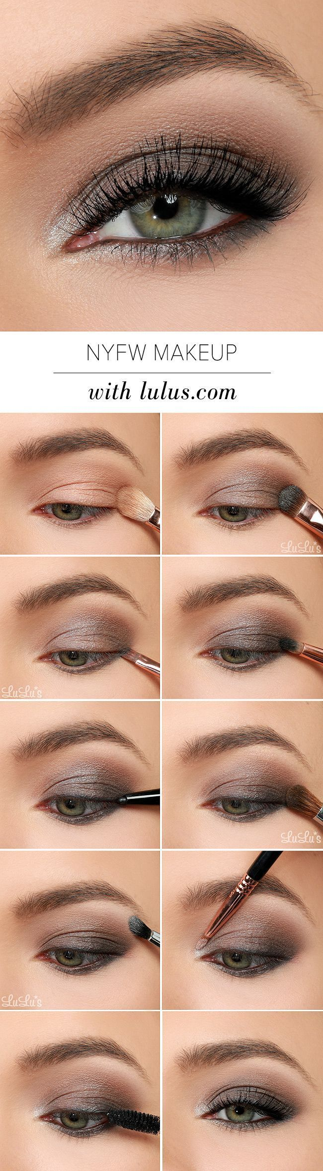 Metallic silver bridal makeup tutorial   fashionisers©.