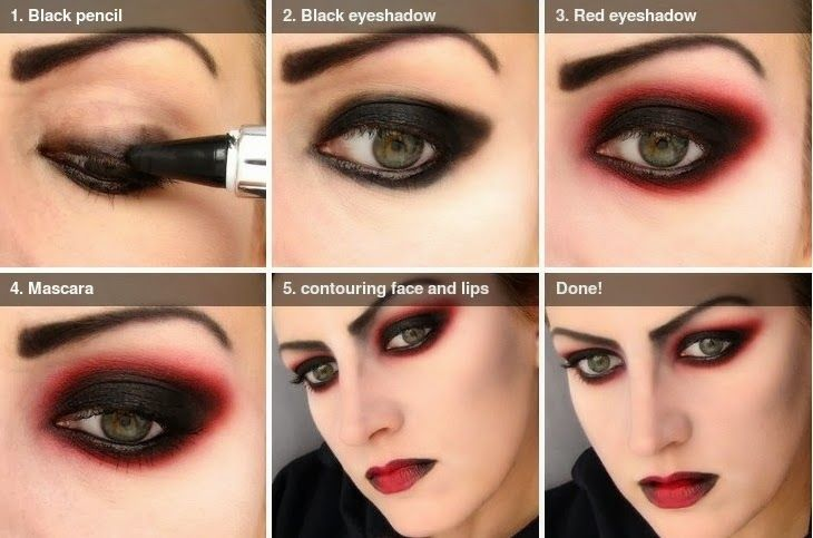 How to apply vampire makeup