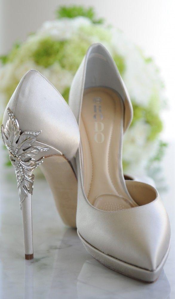 Best 25 Silver Wedding Shoes Ideas On Pinterest