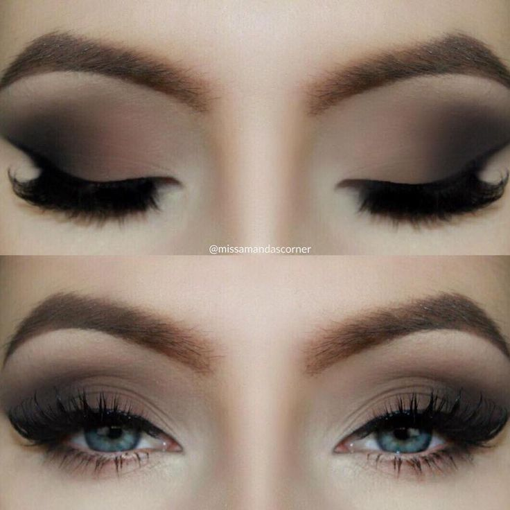Description. Brown Matte Smokey Eye Tutorial ...