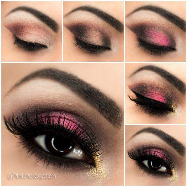 Best Ideas For Makeup Tutorials Breathtaking Pink Smoky Eye Makeup