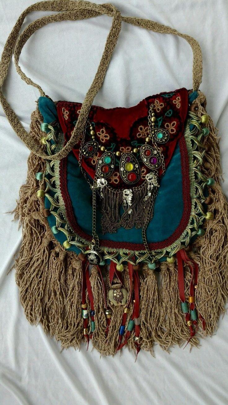 Bags amp Handbag Trends Handmade Velvet Fringe Bag Gypsy