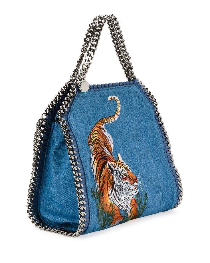 Bags & Handbag Trends : Stella McCartney Mini Bella Tiger ...