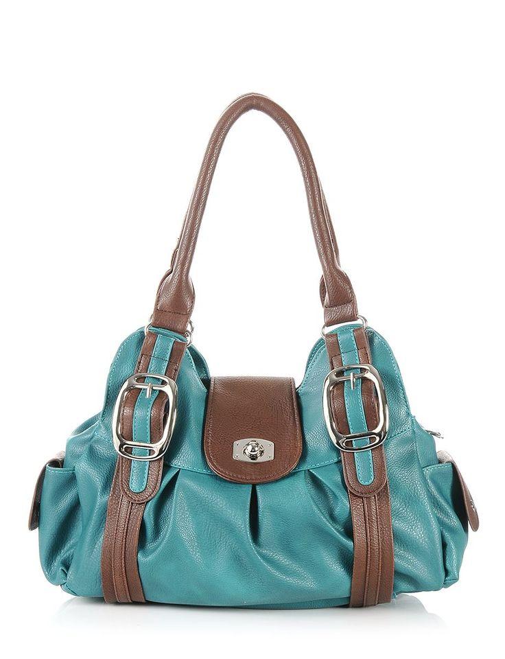 Bags Amp Handbag Trends Teal Everyday Shoulder Purse 16