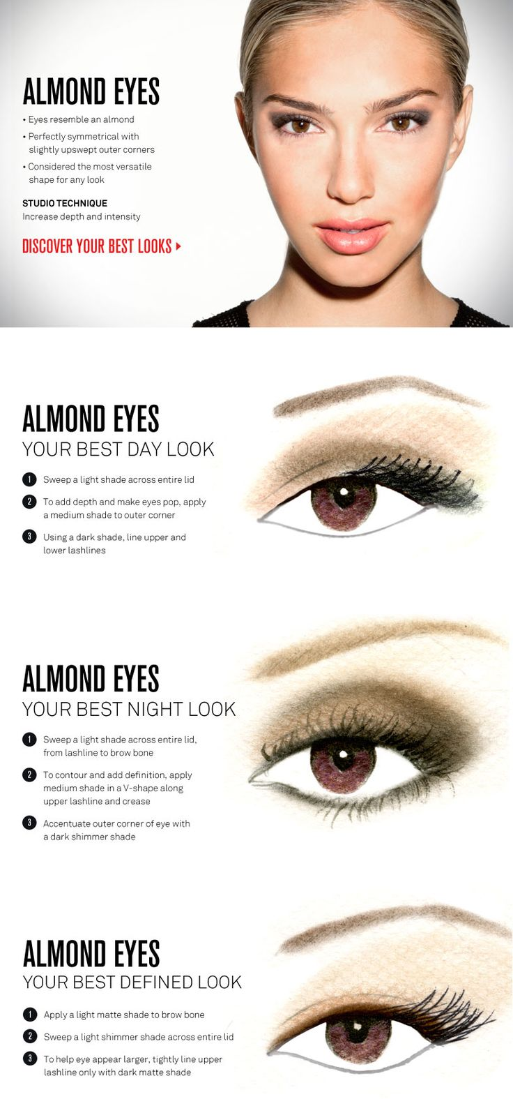 Eye Makeup Tips Almond Eyes Saubhaya Makeup