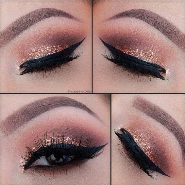 Best Ideas For Makeup Tutorials : Get glittery peepers for New