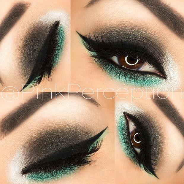 Makeup tutorial for blondes.