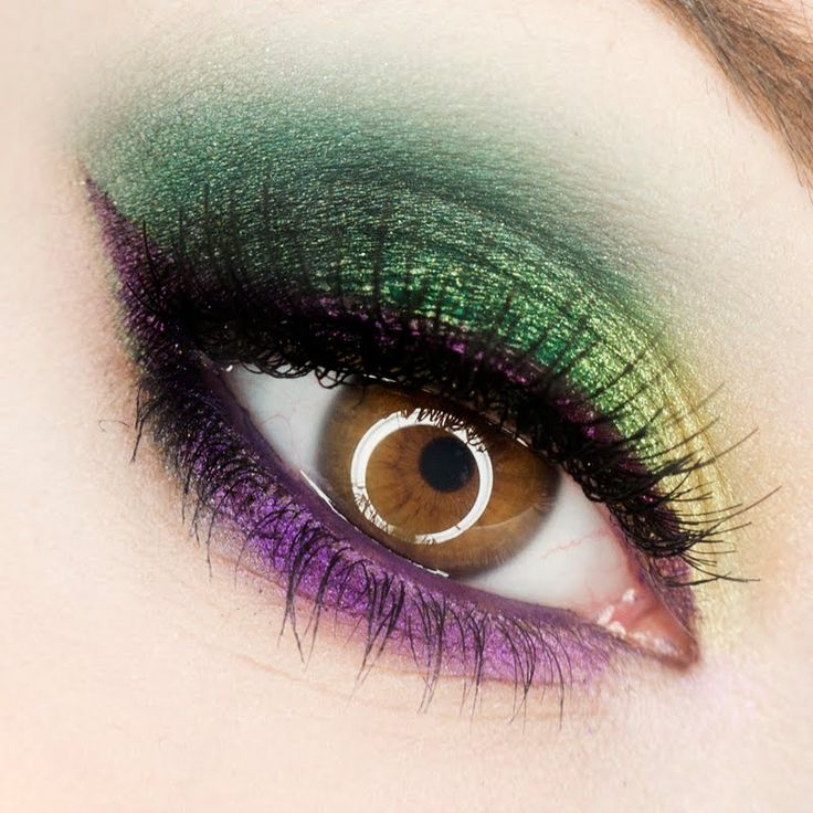 Best Ideas For Makeup Tutorials Mardi Gras Eye Make Up For Hazel