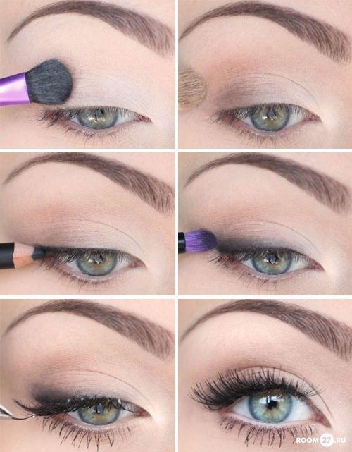 Description Natural Prom Makeup For Hazel Eyes