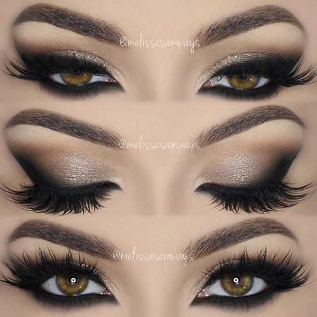 How to apply dramatic smokey eyes makeup celebs & fashion mag.