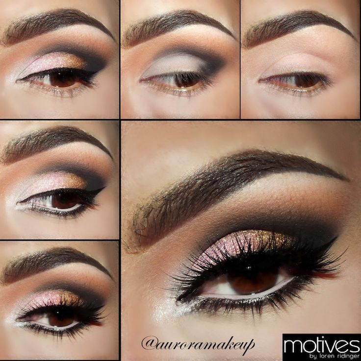 how to make up your eyes step by step