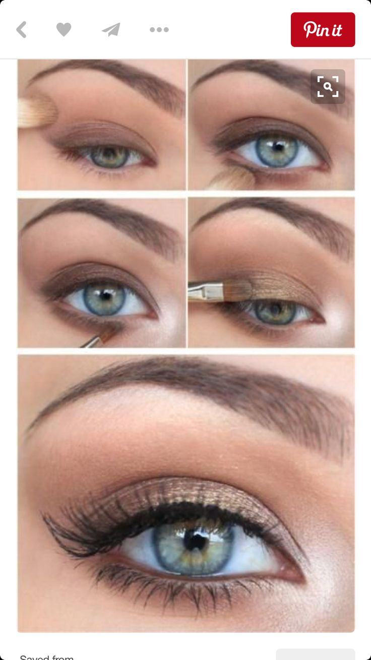 Best Ideas For Makeup Tutorials Soft Warm Brown And Golds Great