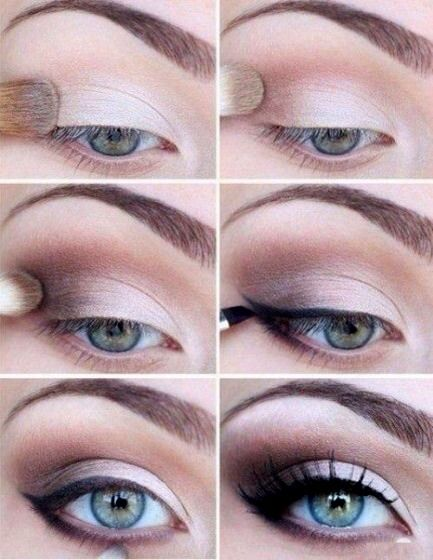 Best Ideas For Makeup Tutorials This Light Pink Blush Tone Adds Something Soft And Beautiful To A Smokey Eye Bl Jpg