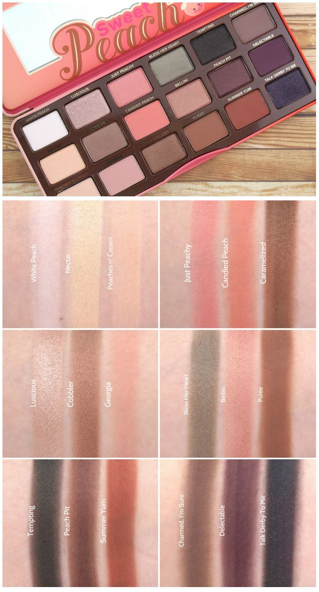 Too Faced Natural Matte Eye Palette Youtube