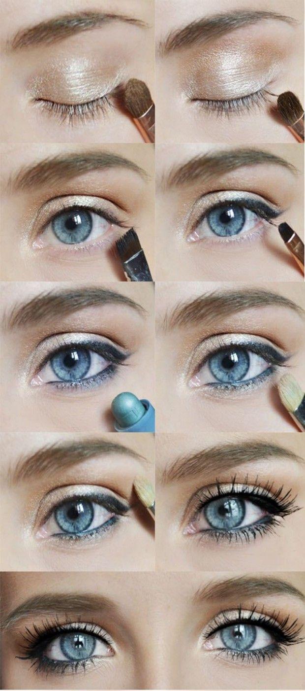 best ideas for makeup tutorials : 20 gorgeous makeup ideas for blue