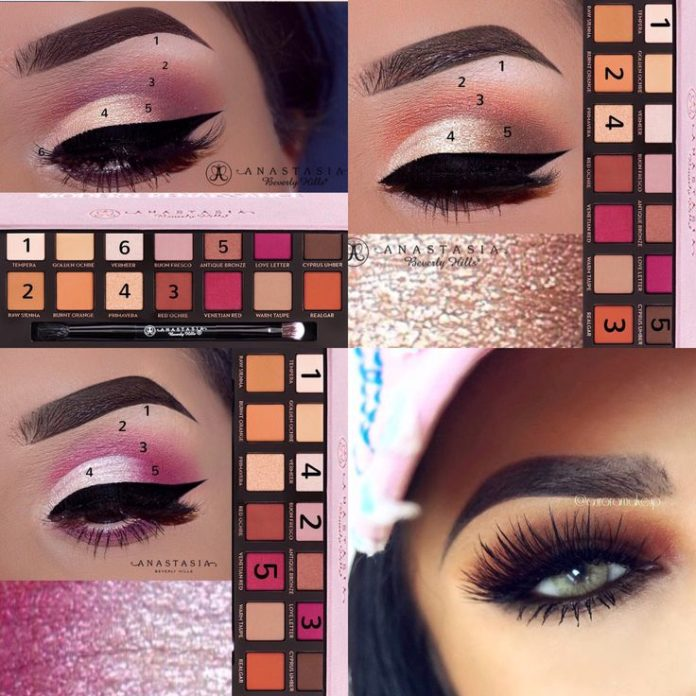 best eye makeup tutorials best ideas for makeup tutorials anastasia beverly hills. Black Bedroom Furniture Sets. Home Design Ideas