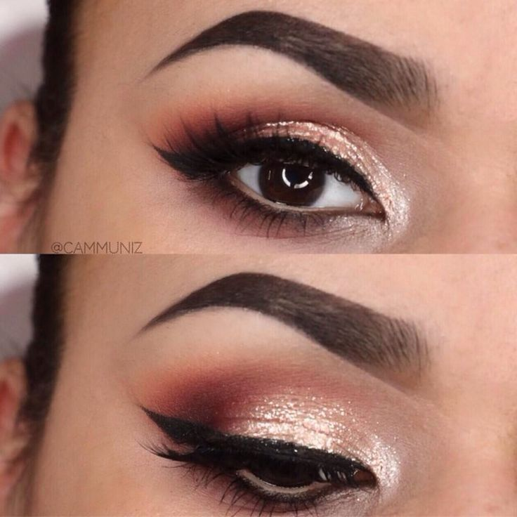 Best Ideas For Makeup Tutorials : Brown Eyes Champagne ...