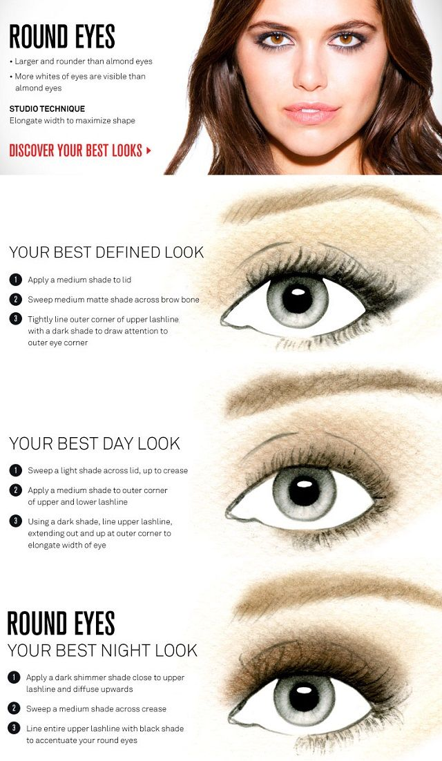 Best Ideas For Makeup Tutorials Change The Shape Of Your Eyes By