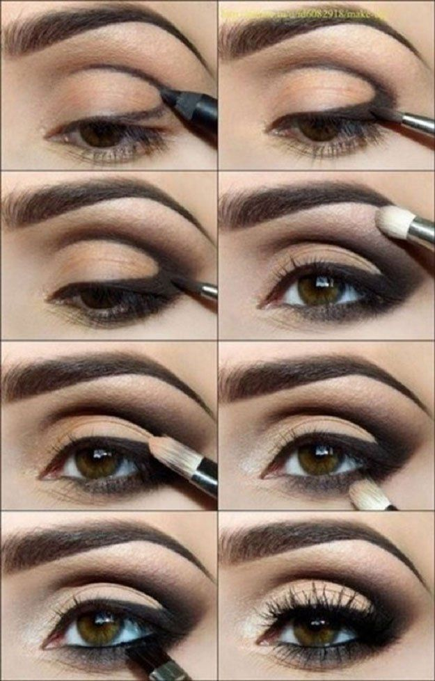 Populaire Best Ideas For Makeup Tutorials : Classic Black Eyeshadow Tutorial  LM58