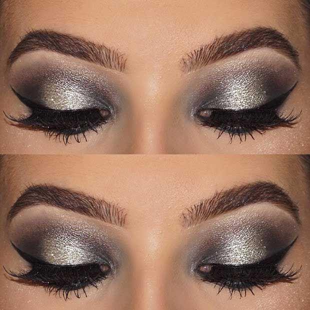 Best Ideas For Makeup Tutorials Grey And Silver Eye Makeup Idea