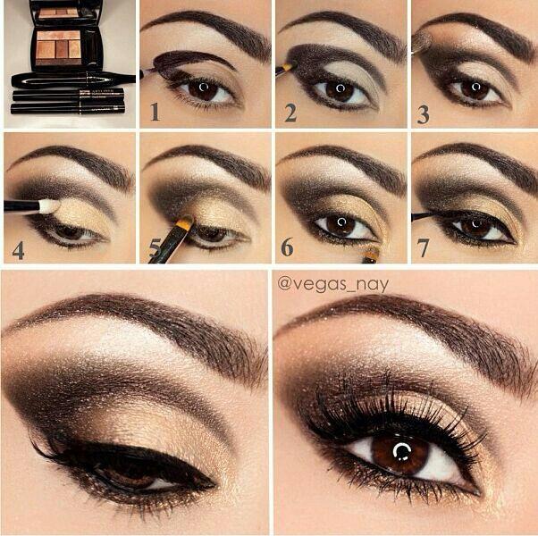 Eye makeup tutorial eye makeup for hazel eyes.
