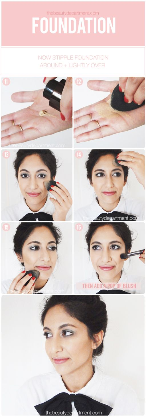 Foundation tutorial: how to use a stippling brush youtube.