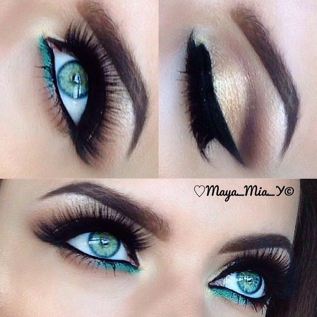 Best Ideas For Makeup Tutorials Natural Teal Eye Makeup