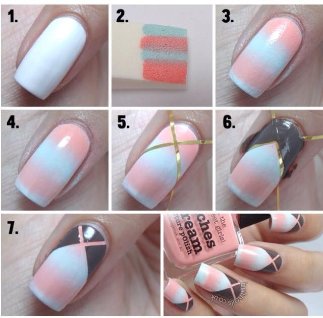 Best Ideas For Makeup Tutorials Nice Easy Nail Art For Beginners