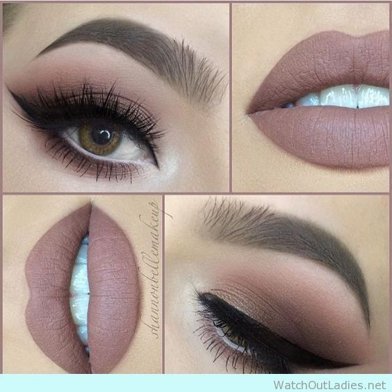 Best Ideas For Makeup Tutorials : 90\'s inspired eye makeup for brown ...
