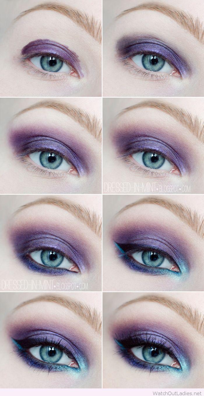 Best Ideas For Makeup Tutorials Purple And Blue Eye Makeup