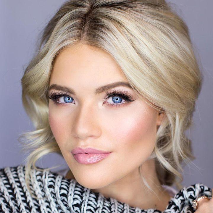 Best Ideas For Makeup Tutorials Soft Smokey Eye Pink Lips Stunning