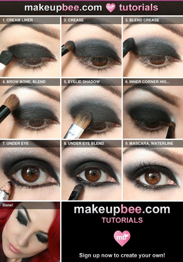 Step By Step Decorating Living Room: Best Ideas For Makeup Tutorials : Step-By-Step Tutorial
