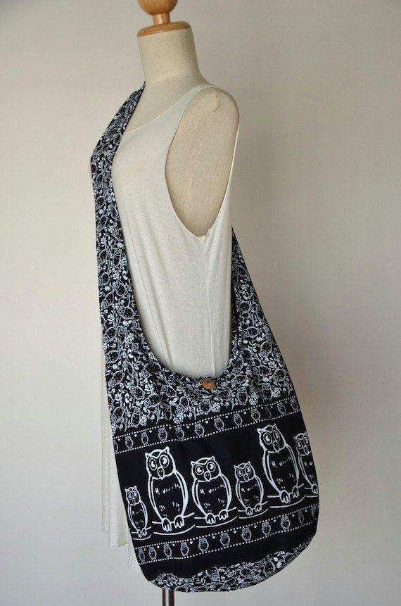 Bags   Handbag Trends   Owl Bag Hippie Hobo Bag Sling Crossbody Bag ... 24ceb1a4b6