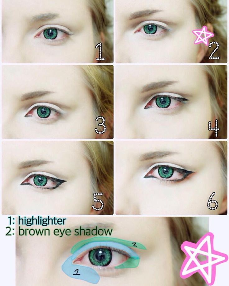 Best Ideas For Makeup Tutorials Hey Here S The Anime Eye Makeup