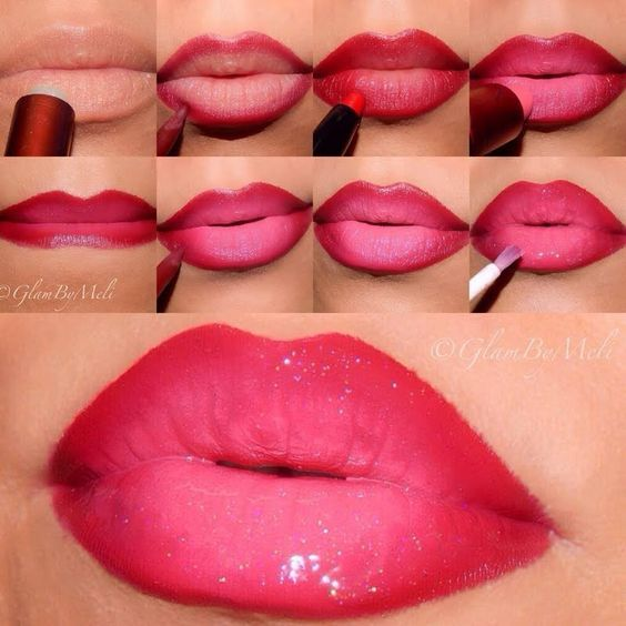 step by step lip makeup application with pictures mugeek