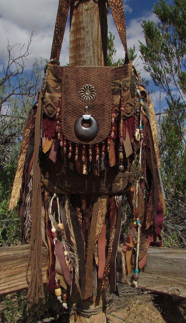 Bags Amp Handbag Trends Handmade Gypsy Fringe Purse Boho