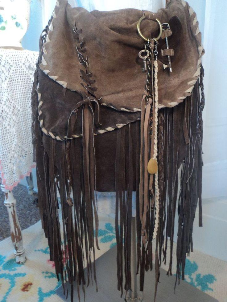 Bags Amp Handbag Trends Large Handmade Brown Leather Suede
