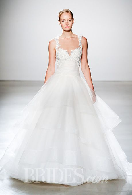 Beautiful Wedding Dresses Inspiration 2017/2018 : A ball gown-style ...