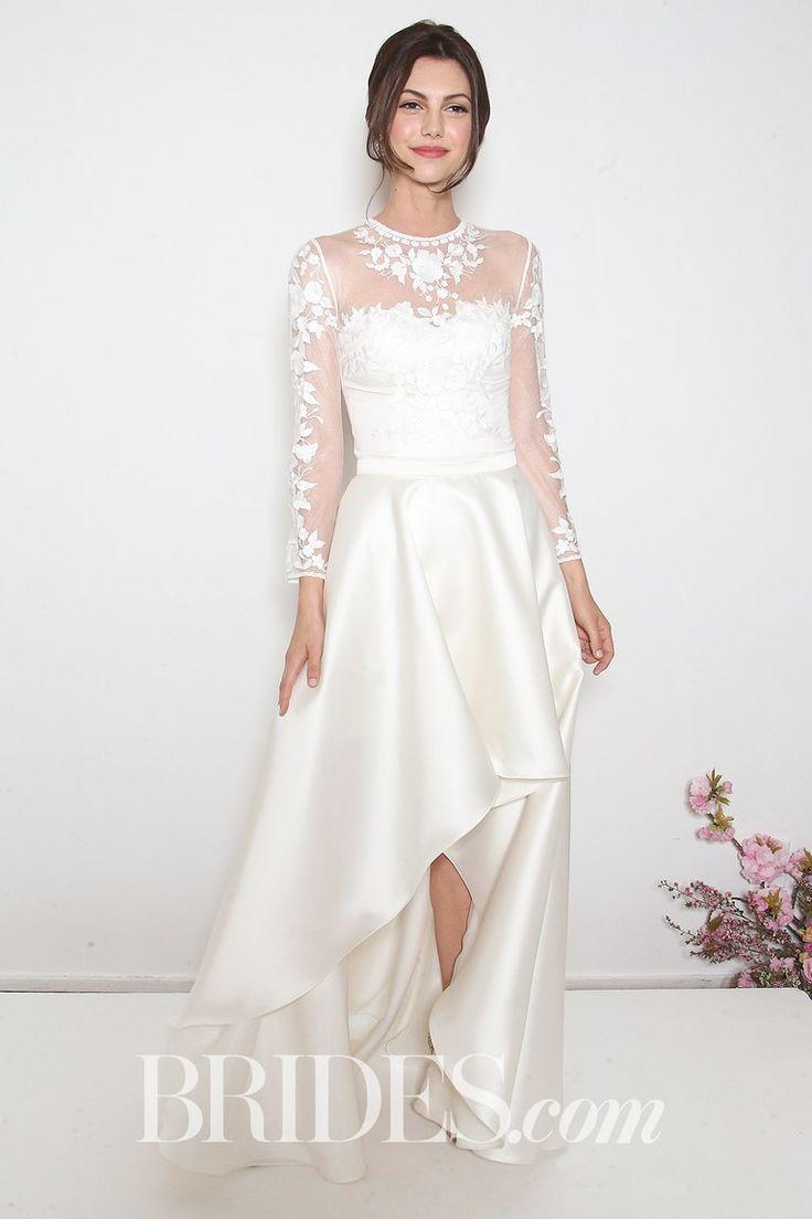 Beautiful Wedding Dresses Inspiration 20172018 Bhldn High Low