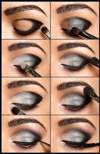 Best ideas for makeup tutorials: 12 awesome smokey eyes tutorials.